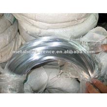Alambre galvanizado de alta tensión del hierro de la fuente de la fabricación