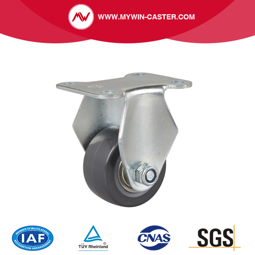 Mini 2 inch 40Kg Rigid PU Caster