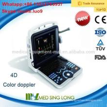 2015 Nuevo equipo portable del ultrasonido del color 3D / 4D del ordenador portátil de la llegada MSLCU28-I / dispositivos médicos del ultrasonido
