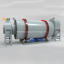Кокосовый роторный барабанный сушильный автомат
