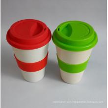 (BC-C1033) Tasse à café en fibre de bambou à chaud