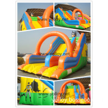 Outdoor Large Commercial Inflatable Slide