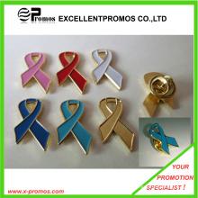 Badges de ruban rouge personnalisé de qualité chaude, badges en métal (EP-L8260)