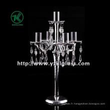 Bougeoir en verre pour décoration intérieure par BV ...