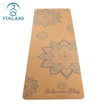 Yugland  wholesale yoga mats eco friendly cork yoga mat