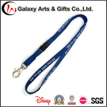Custom Silk Screen Printed Polyester Tubular Lanyards with Badge/Card
