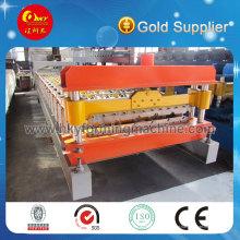 Hky 59-211-900.9 / 844 Máquina formadora de rolos de telha de aço colorida Linha de produção automática para painel de parede e telhado
