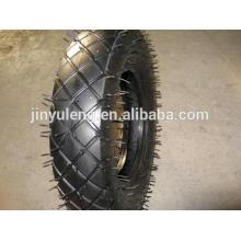 roue de brouette de roue de haute qualité 3.50-8 pour la brouette, camion de main, chariot,