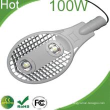 100W levou luz rua Bridgelux High Power Chips CE RoHS 3 anos de garantia