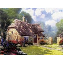 Pintura al óleo del paisaje de Thomas para la decoración casera