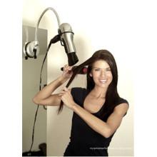 Sostenedor caliente del secador de pelo de las manos y de las manos libres