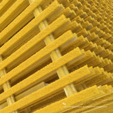 FRP / GRP pultruded Gratings, FRP / GRP pultrudierte Profile