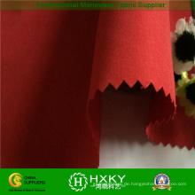 Polyester 1/3 Twill gebürstet Polyester Pfirsich Haut Stoff für Winterjacke