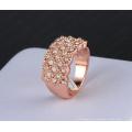 Роскошные кольца золота 18k покрывая обруча (Ri-HQ0062)