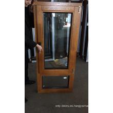 Ventanas de ventana de madera de aluminio de Windows para abatibles solárium