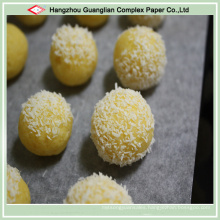 Oven Use Silicone Coating Parchment Pan Liners for Baking