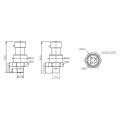 FST800-1200 Neueste kostengünstige verlorene Drucksensor für Auto