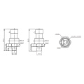 FST800-1200 2018 Vente chaude Bas Prix Générateur Hydraulique Moteur capteur de pression d'huile