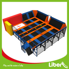 Professionelles Indoor Trampolin Park Design