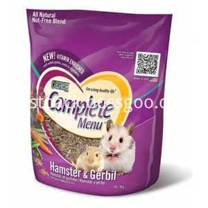 Hamster Food Packaging