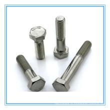 Parafuso sextavado simples de aço inoxidável A2-70