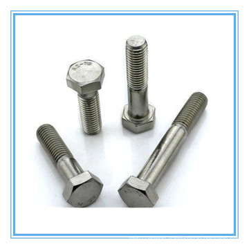 Plain Stainless Steel A2-70 Hex Bolt