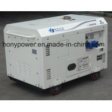 Dg6500se Air-Cooled Power Silent Diesel Generator for Industrial Use
