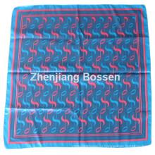 OEM-продукт изготовленный на заказ дизайн печатных Promoitonal сатин шелка, как квадратный шарф