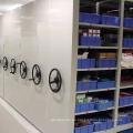 Solución de almacenamiento móvil para oficinas y almacenes / Estante móvil manual para tareas livianas