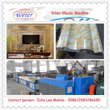 PVC Plastic Stone Interior Decorative Moulding Extruder