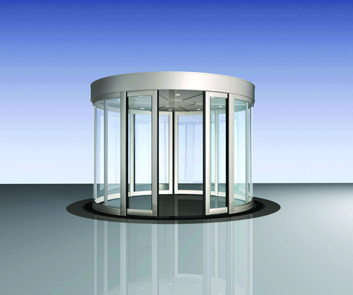 Automatic Curved Sliding Door with Multi-functions