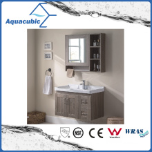 Wall Mount Bathroom Cabinet with Melamine Surface (ACF8898)