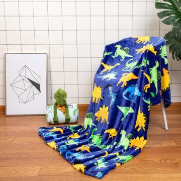 Warm cozy soft design for children blanket