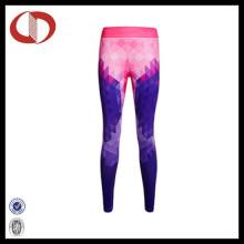 Nuevo patrón de estilo mujeres corriendo pantalones fitness y polainas de yoga