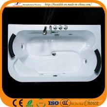 Linke und rechte Kissen Acryl Große Massage Badewanne (CL-337)
