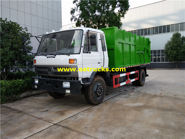 12m3 Docking Garbage Trucks