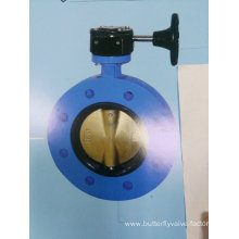 Rubber Lined U Section Butterfly Valve