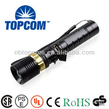 3 modes cree XR-E led flashlight with usb charger TP-1853