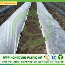Tissu non-tissé résistant aux UV de pp pour l'agriculture
