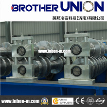 Máquina formadora de rollos de chapa ondulada de acero de color