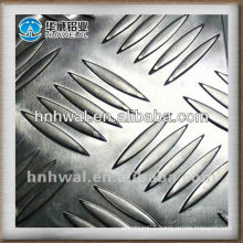 1000 Series High quality 5-Bars Aluminum chequered sheet /plate for kitchen flooring