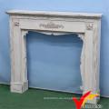 Shabby Chic Vintage Indoor Freistehende Kamin, Antike Mantel