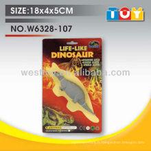Dinosaure de simulation de caoutchouc souple TPR