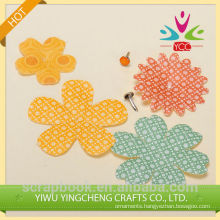 Hot selling artificial flower wholesale for scrapbook