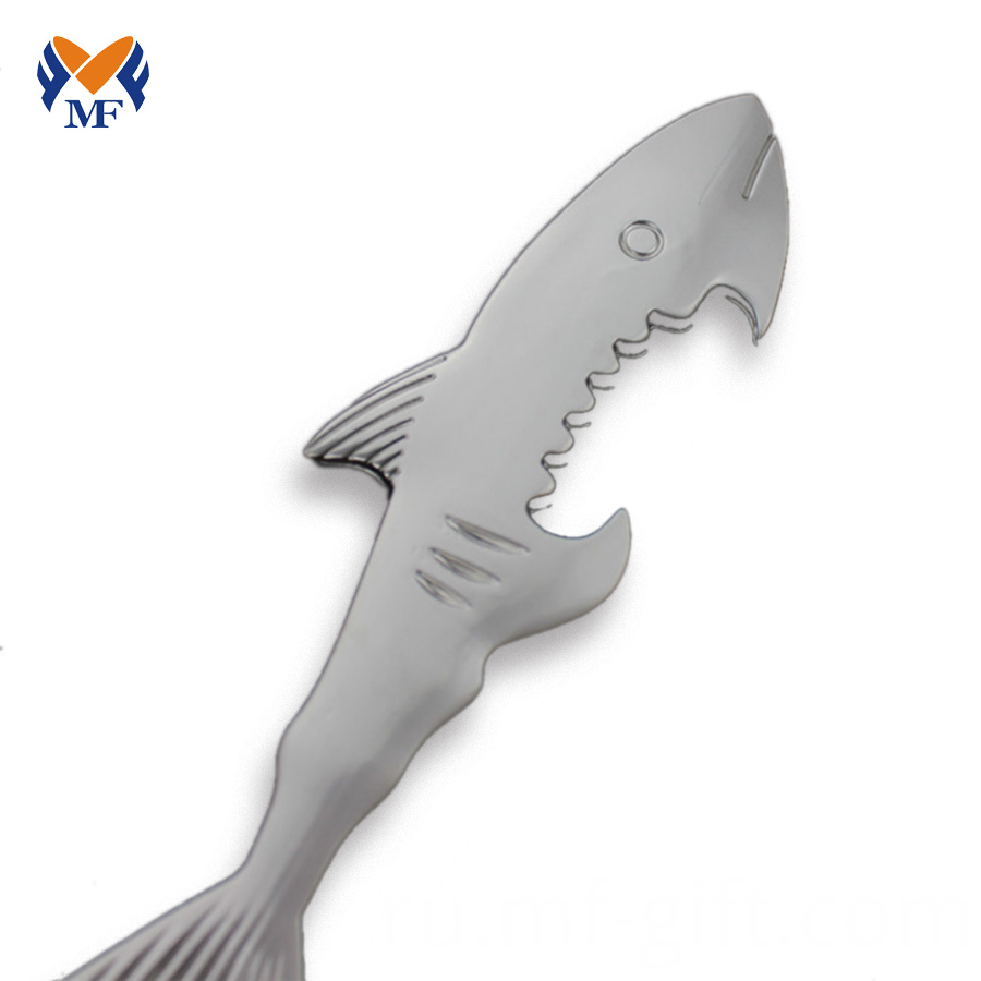 Shark Bottle Opener Keychain