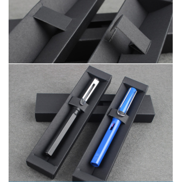 Natural Black Paper Card Ball-point Pen Packaging Box
