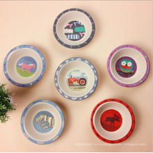 (BC-B1045) Горячее надувательство Природные Bamboo Fiber посуда Детские Bowl