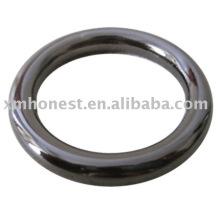Кольцо с металлической сумкой