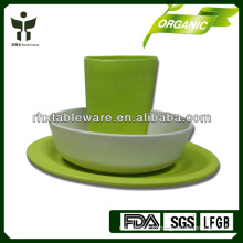Green lifestyle with bamboo tableware