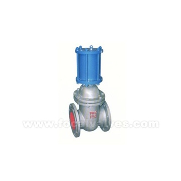 Gate Valve with Pneumatic Actuator